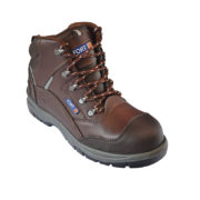 FF100 SAFETY ANKLE BOOT/BROWN