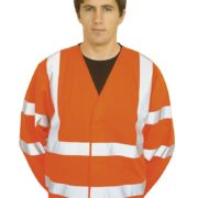 HI-VIS TWO BAND & BRACE JACKET – C473
